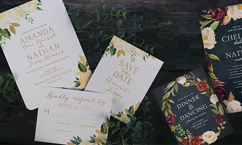 Wedding Invitation Etiquette from Noteworthy Invitations